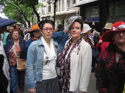Nina y Cristina