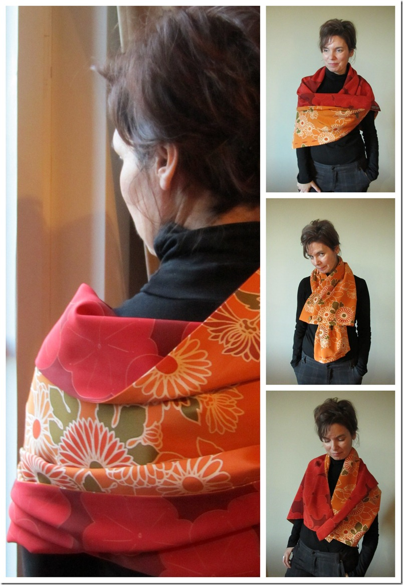 Kimono versatile cape