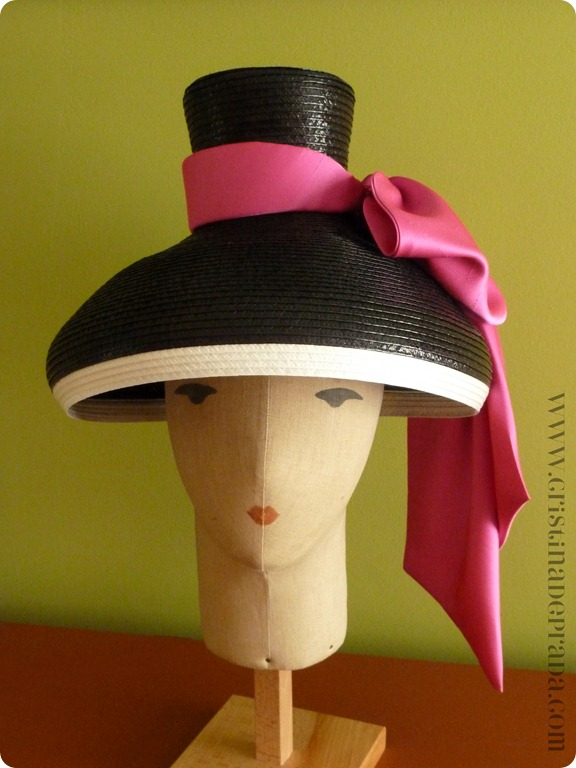 day hat front view